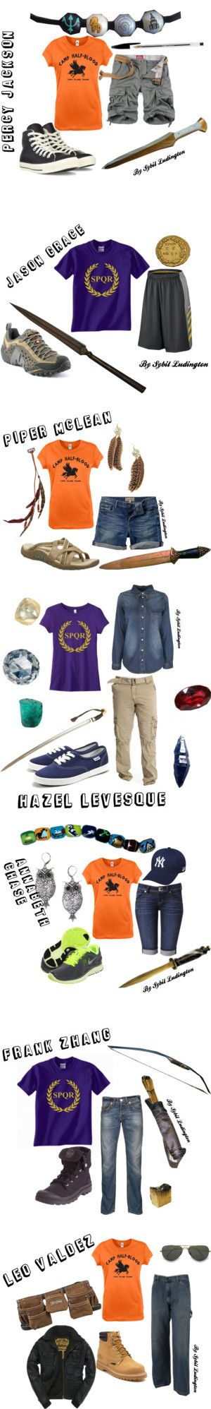 """Heroes Of Olympus"" by merahzinnia on Polyvore"