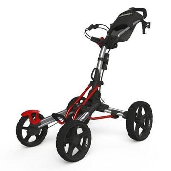 Clicgear 8.0 Golf Trolley - Silver/Red (available in a range of colours)