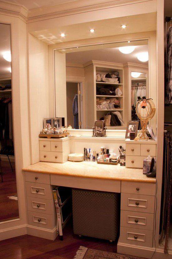 51 Incredible Makeup Vanity Table Ideas
