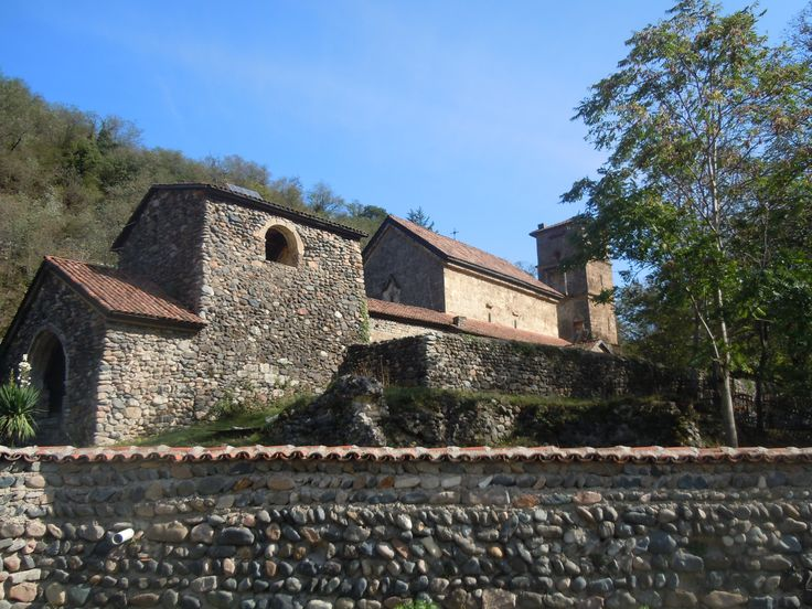 ST. GEORGE'S CHURCH AND MONASTERY COMPLEX IN THE VILLAGE OF UBISA