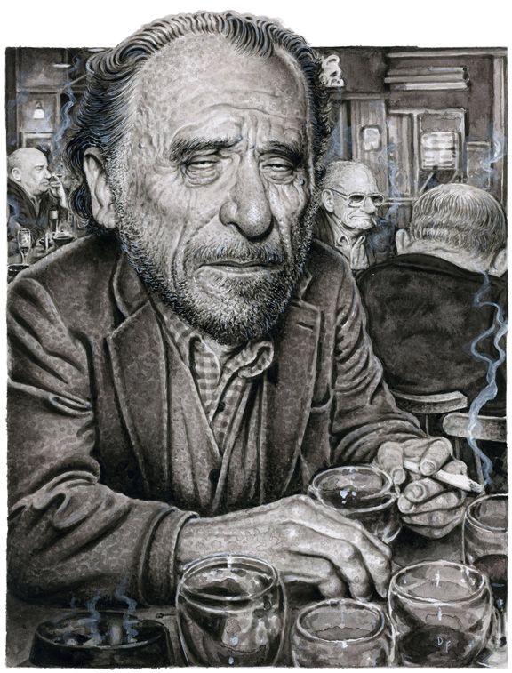 Drew Friedman :: Charles Bukowski