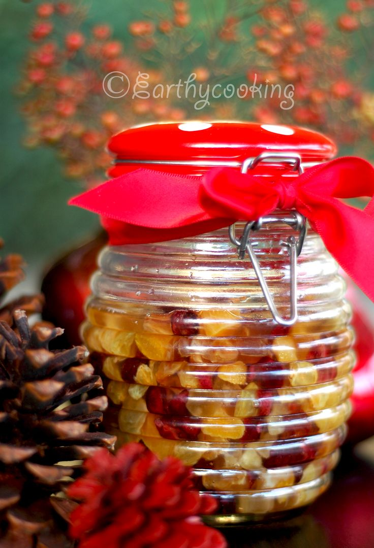 Rum soaked dry fruits