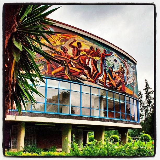 UNAM Auditorio Alfonso Caso - Ciudad de México, Distrito Federal #UNAM #MÉXICO #AUDITORIOALFONSOCASO