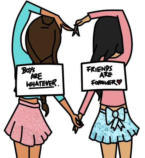 best friend drawing | Friends Are Forever:. by ~TheMacaronikid on deviantART
