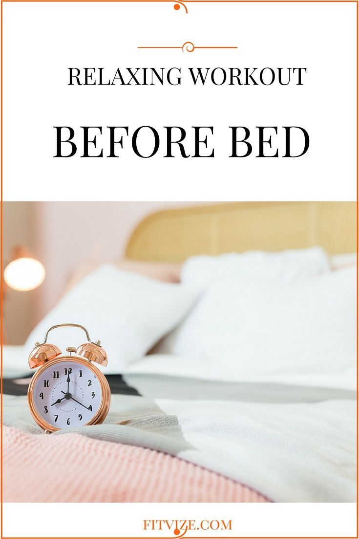 For better sleep, be active during the day and perform moderate intensity workouts before going to bed. Check out this pin to find out short evening workouts and tips to better sleep