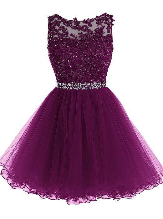 Prom Gown,Elegant Graduation Dress,Sweet 16 Dress,Short Dress for