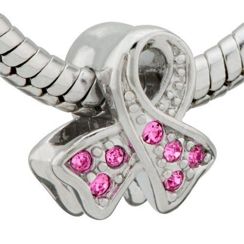 Pandora Charms   ... Cancer Awareness Bead Charm- Pandora Charms Beads Compatible on Wanelo