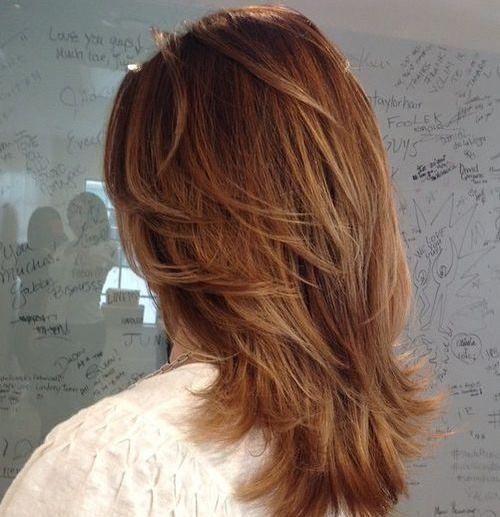 15 Medium layered haircuts. Different medium layered haircuts. Simple and easy medium layered haircuts. Top medium layered haircuts for women.