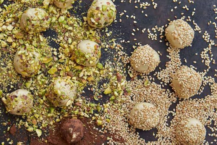 These Middle Eastern and African cookies are bite-sized and ideal for dipping in tea.