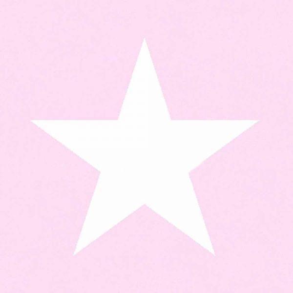 Stilren tapet med stora stjärnor från kollektionen Everybody Bonjour 136452. Klicka för att se fler fina tapeter för ditt hem!