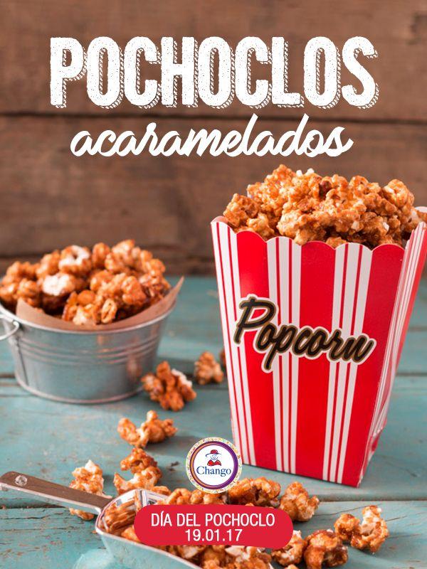 ¡Hoy celebramos el Día del Pochoclo!  Te compartimos esta receta para que lo celebres de la manera más dulce: http://buff.ly/2iNtfDP