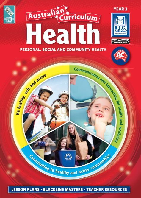Personal, social and community health. Australian Curriculum ACARA linked.
