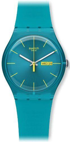 best - Swatch Men's SUOL700 Quartz Turquoise Dial Measures Seconds Plastic Watch Swatch http://www.amazon.com/dp/B004OVDUKI/ref=cm_sw_r_pi_dp_8GONtb1BCBM32ENR
