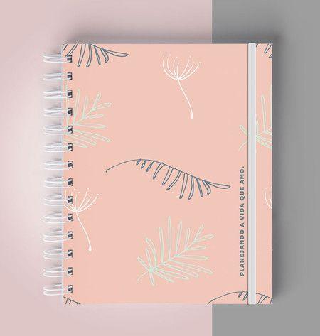 Planejador de Listas -  Natureza colorida