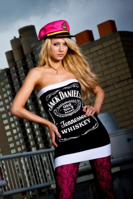 Dirty Addiction Jack Daniels Dress by PurpleLobster on Etsy