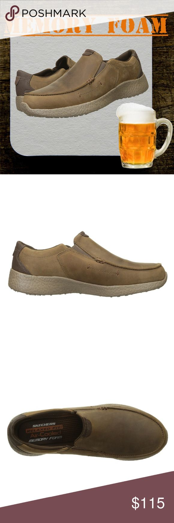SKECHERS Burst - Valid Men's Slip-on Loafer Shoes ✔Take advanced comfort technology into a versatile style with the SKECHERS Burst - Valid Men's slip-on loafer shoe.  ✔Features: Air Cooled Memory Foam insole, Burst Technology midsole. Dual side elastic panels for easy slip on fit. Padded collar. Flexible outsole with Burst Grip traction design.  ✔Material: Smooth oiled leather suede upper. Textured rubber midsole finish.  ✔Size: 10 Medium  ✔Color: Brown  ✔Condition: Brand New in box, manufacturer packaged and sealed. Skechers Shoes Loafers & Slip-Ons