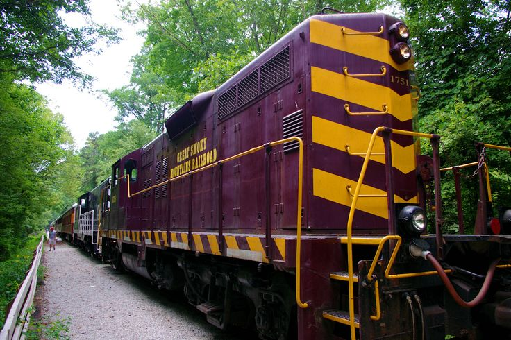 Great Smoky Mountains Railroad Train Rides In North
