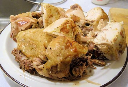 Easy Slow Cooker Chicken at oldfatguy.ca 4