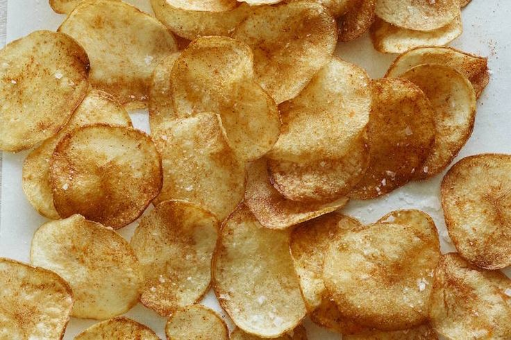 how to make baked bbq potato chips
