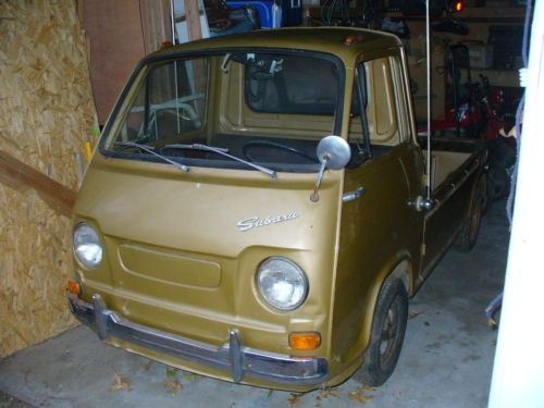 1969 subaru 360 pickup cars i like pinterest subaru. Black Bedroom Furniture Sets. Home Design Ideas