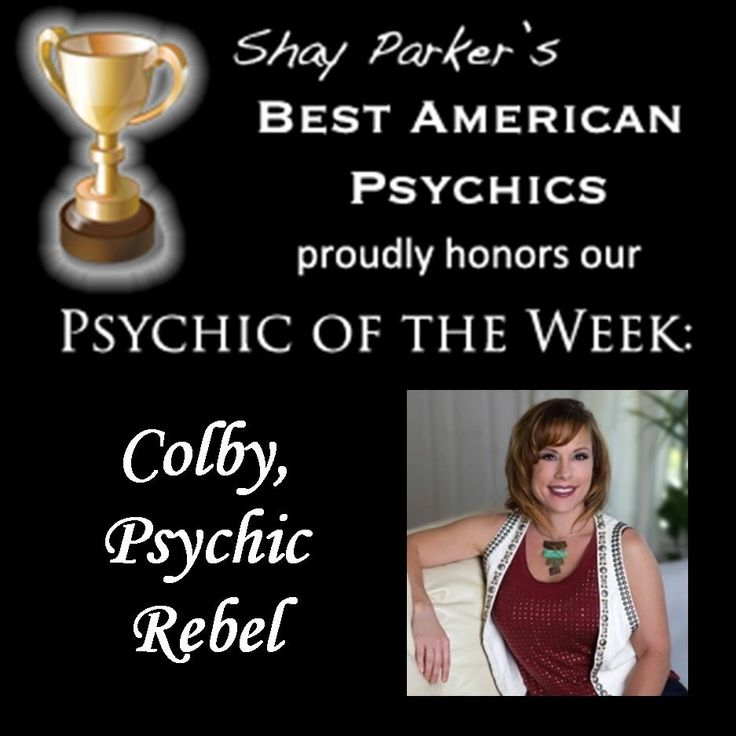 Such an honor to be named by Shay Parker's Best American Psychics!