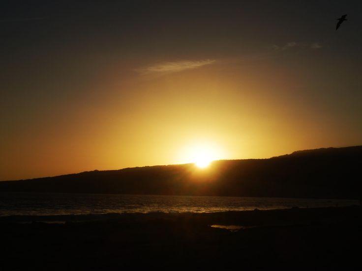 Puesta de sol en Valdevaquero - Tarifa