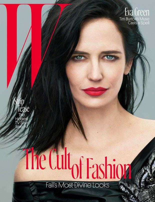 Eva Green for W Magazine by Mert Alas and Marcus Piggott