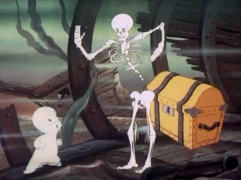 """CASPER THE FRIENDLY GHOST ~ """"Deep Boo Sea"""", 1952 http://www.youtube.com/watch?v=Q3R_FKfUOl0"""