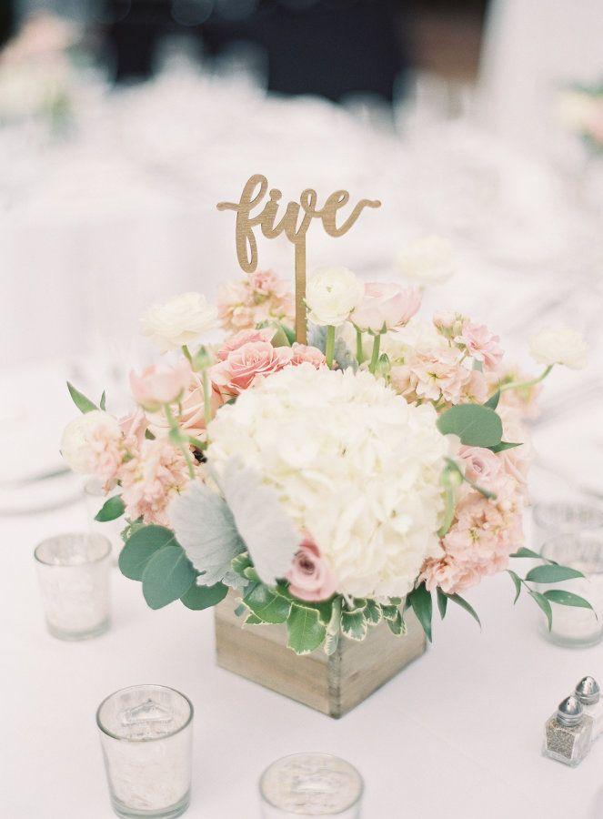 1596 best mariage dcoration images on pinterest flower 50 modern diy hydrangea centerpiece pink flower centerpieceswooden mightylinksfo
