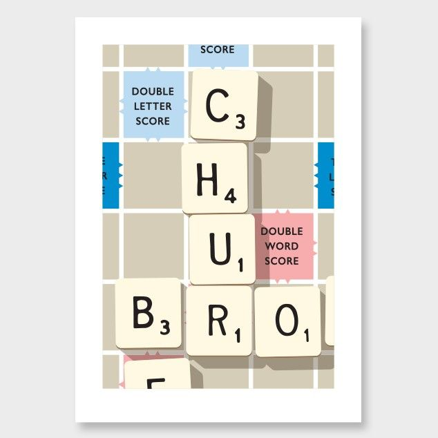Check The Dictionary Art Print by Glenn Jones NZ Art Prints, Design Prints, Posters & NZ Design Gifts | endemicworld