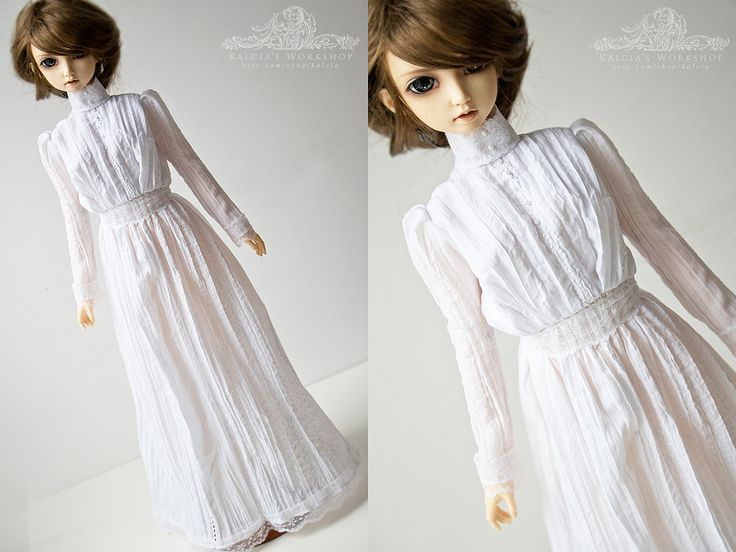 https://flic.kr/p/DbKVSP   . commission .   Early 20th century outfit in SD size