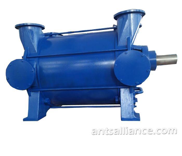 Belts Driven Liquid Water Ring Vacuum Pump And Compressor