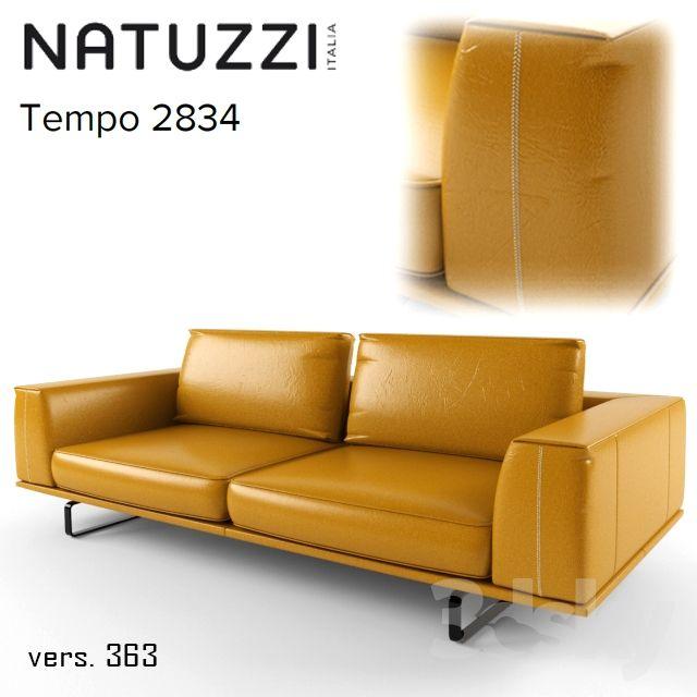 Natuzzi Tempo 2834 sofa