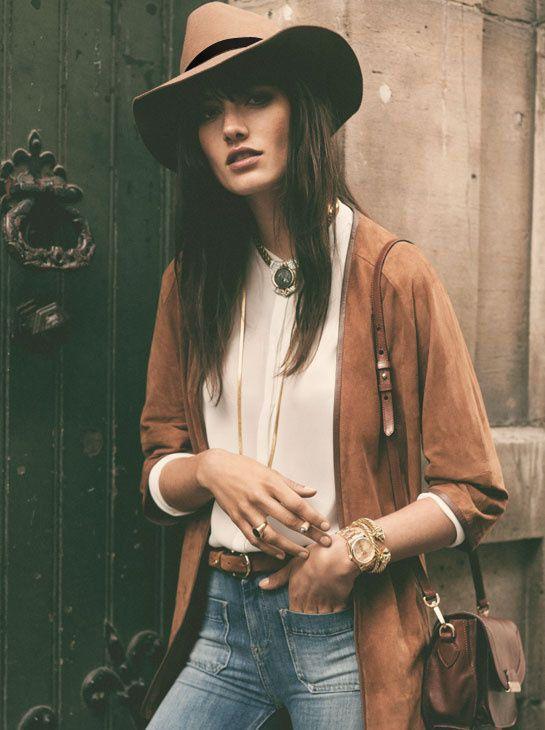Fedora, Fedora Hat, Boho Hat, Boho Style, Gypsy, Boho, Fedora Hat woman, Fedora Hat Camel Felt, Wool, Derby Hat, Wide Brim Hat, Black Felt