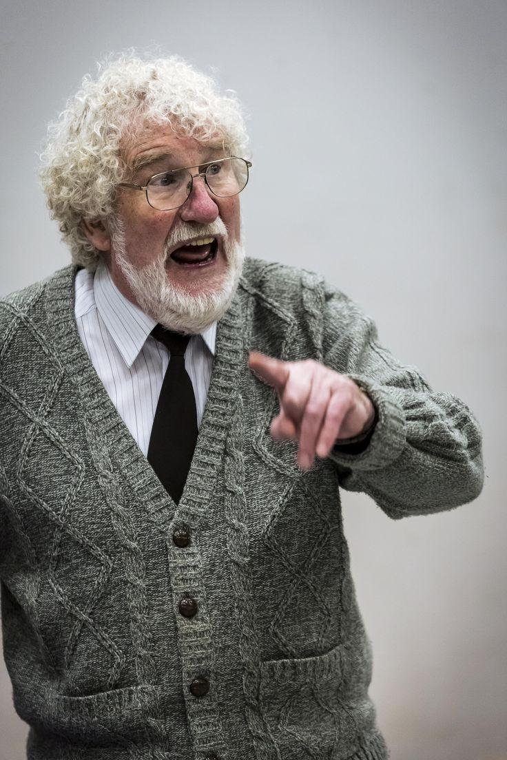 Jim Trott - local production of the 'Vicar of Dibley'...no no no no no no .... yes
