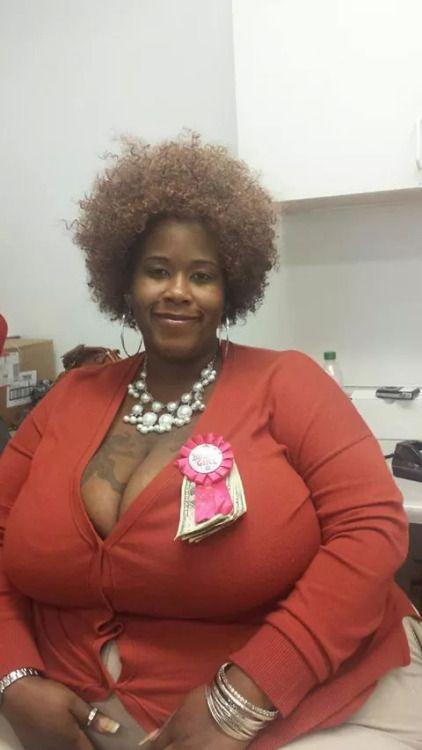 Tits big mature ebony
