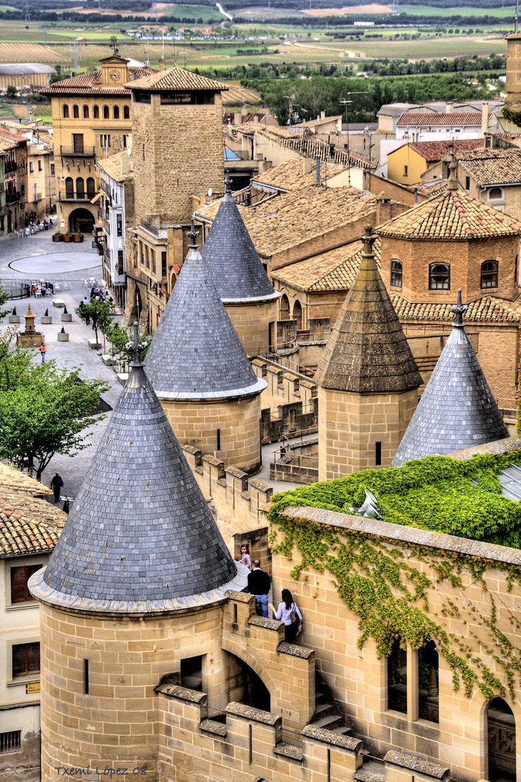 Olite, Spain  ( by basajauntxo )