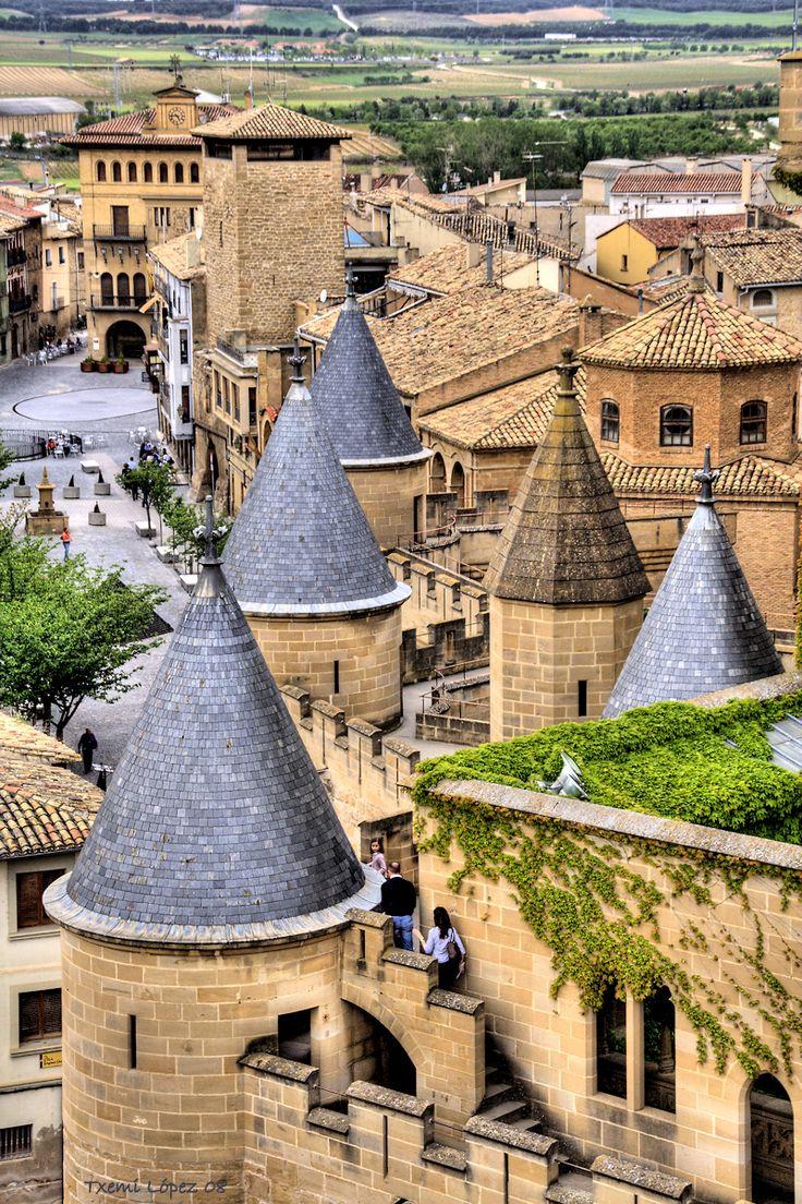Замки Испании - Олитский замок (Наварра)