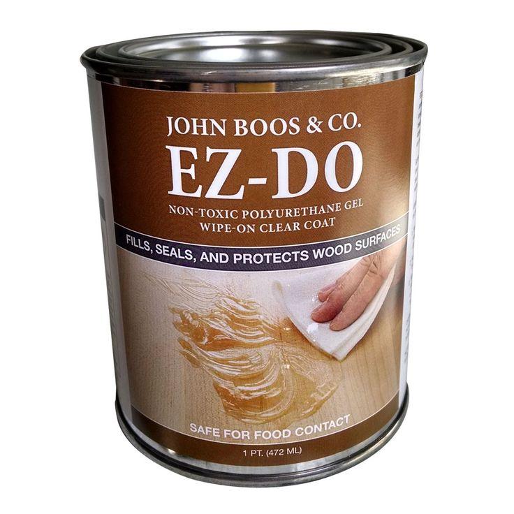 Ez Do Food Grade Polyurethane Gel Wood Projects