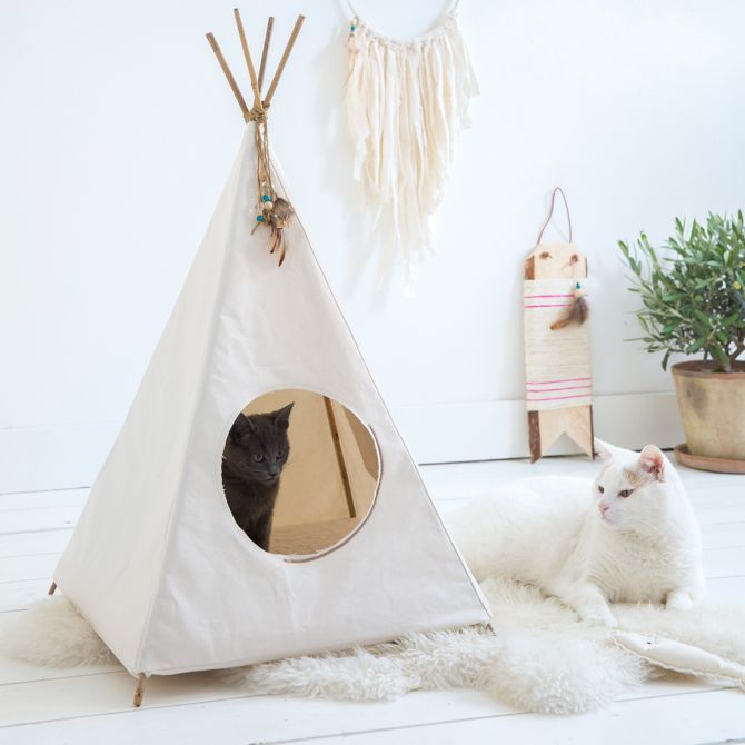 Loulabelle Cat Tipi Google Zoeken Diy Cat Tent Diy