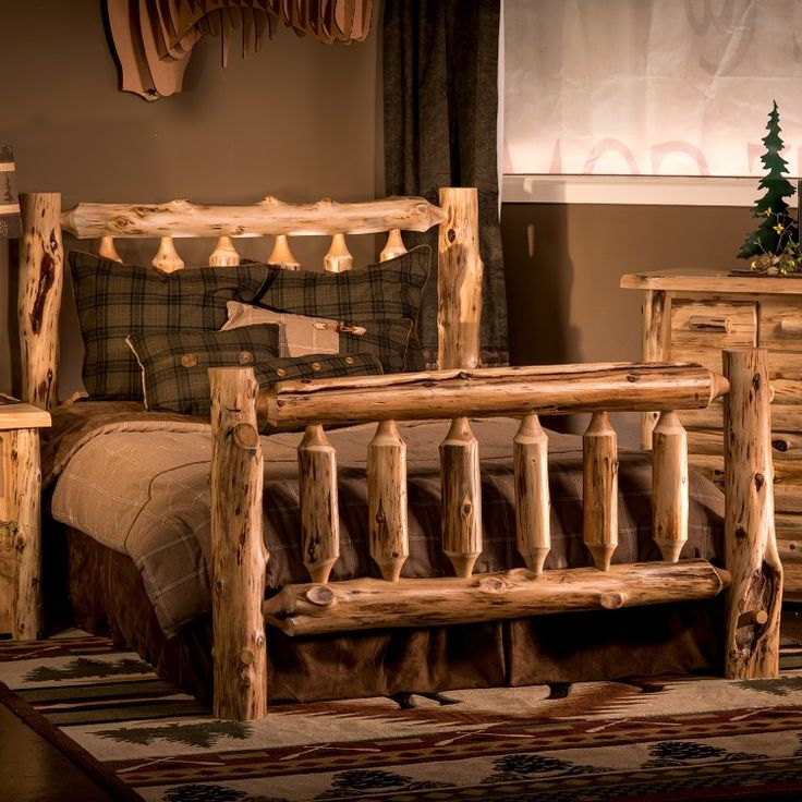 110 best Rustic Bedroom Furniture... It\'s like sleeping with nature ...