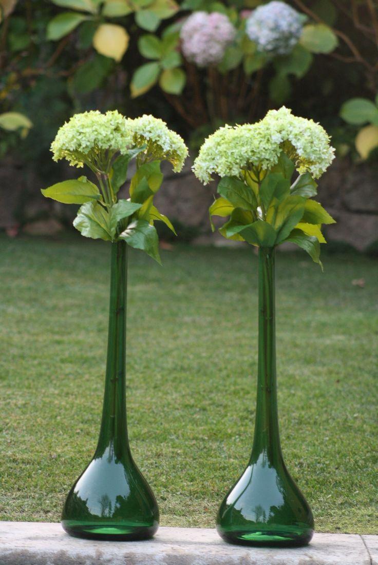 Hortensias artificiales