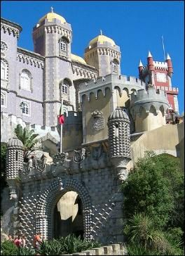Pena Palace is one of the 7 Wonders of Portugal. Built in the 1840s, it is one of Europe's most fantastic palaces, often compared to Neuschwanstein and the other mock-medieval castles of Ludwig of Bavaria in Germany, although it was actually built more than two decades before those.