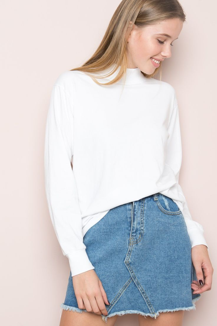 Brandy ♥ Melville | Alfie Turtleneck Top - Clothing