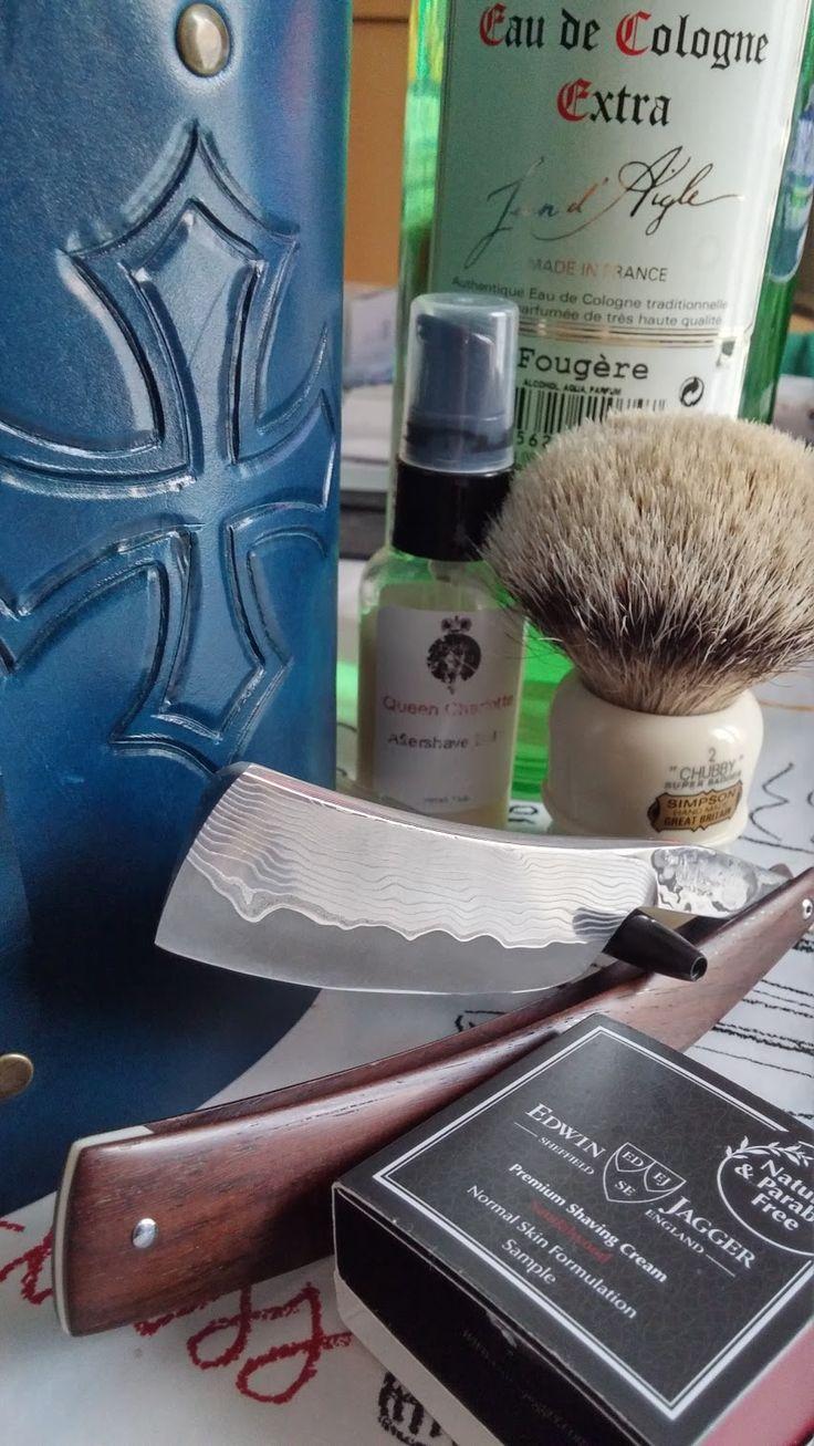 patrice lemainque Google+ Straight razor, Close shave