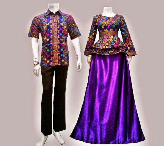 Baju Batik Gamis Modern Songket Prodo