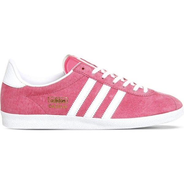 adidas shoes pink and white. adidas gazelle og suede trainers ($92) ❤ liked on polyvore featuring shoes, sneakers adidas shoes pink and white
