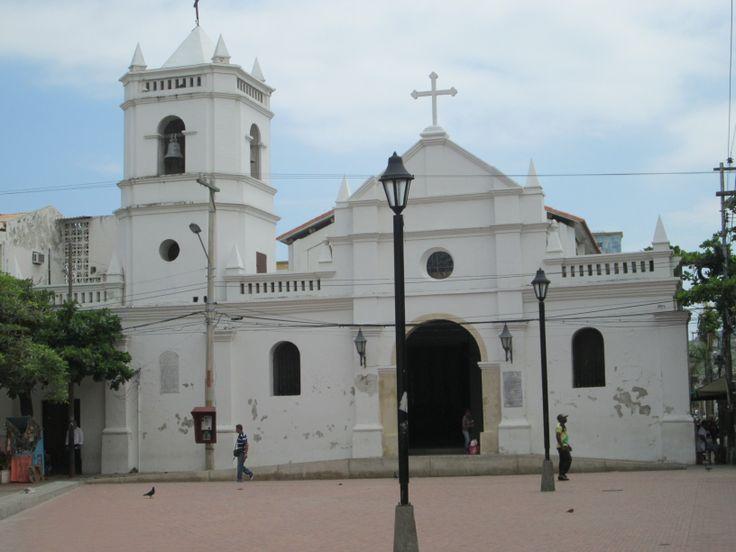 IGLESIA COLONIAL SAN FRANCISCO DE ASIS en Santa Marta, Colombia