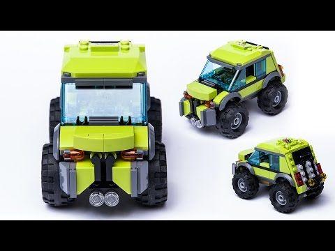 LEGO city custom 60121 alternate moc - SUV car. Vulcano Explorer remake. - YouTube