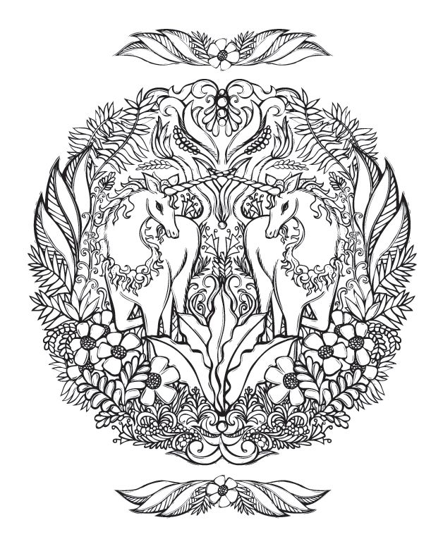 sacrednature unicorn fantasy myth mythical mystical legend licorne enchantment coloring pages colouring adult detailed advanced printable